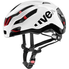UVEX Race 9 Kask rowerowy biały